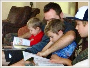 Family-Bible-reading
