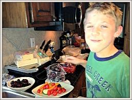 David-cherries-veggies